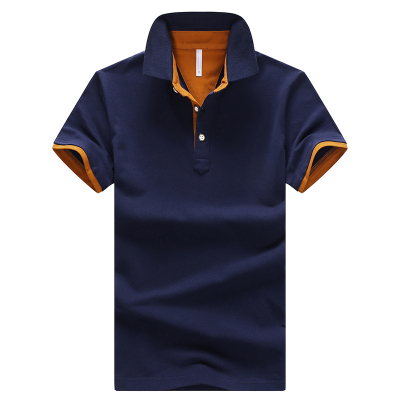 FGKKS Men Brand   Polo   Shirt Tee Top 2019 Summer Men's   Polos   Shirt Business Top Male Business Casual Solid Short Sleeve   Polo   Shirt