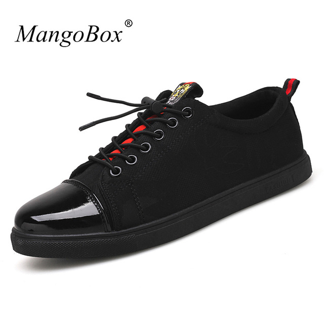 cf41e388252 New Cool 2018 Mens Casual Shoes Hot Sale Casual Sneakers For Men Designer  Mens Flats Shoes Black Fashion Male Canvas Footwear