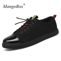New Cool 2018 Mens Casual Shoes Hot Sale Casual Sneakers For Men Designer Mens Flats Shoes Black Fashion Male Canvas Footwear
