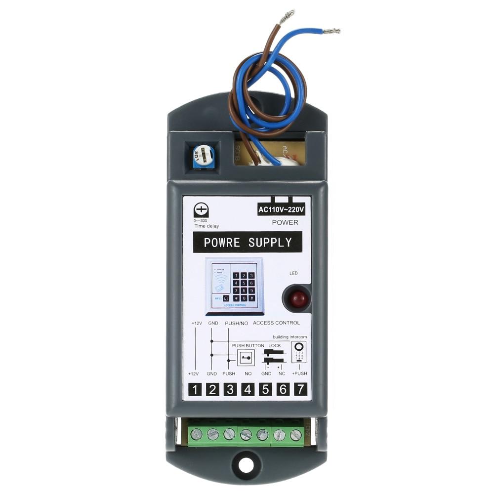 GemäßIgt Access Control Power Versorgung Ac 110-220 V Eingang Dc 12 V/3a Ausgang Netzteil Für Tür Access Control System Ausgezeichnet Im Kisseneffekt Sicherheit & Schutz Zugangskontrolle Kits