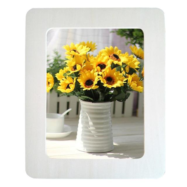 Aliexpress.com: Comprar 1 unids blanco marco de la foto de diy marco ...