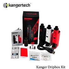 เดิมชุดบุหรี่อิเล็กทรอนิกส์Kanger Dripboxชุดเริ่มต้น60วัตต์Modปรับไหลเวียนของอากาศวาล์วVS kanger kbox 200วัตต์(MM)