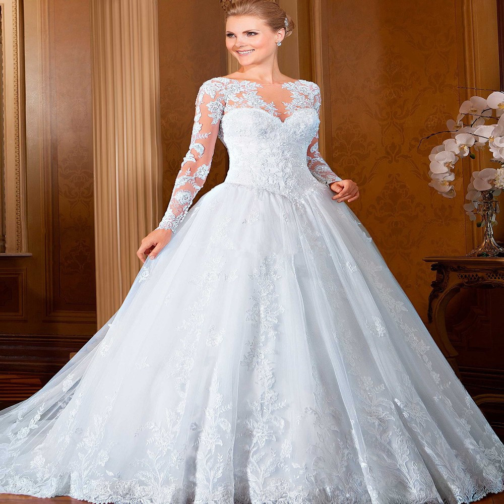 Popular Long Sleeve Ball Gown-Buy Cheap Long Sleeve Ball Gown lots ...