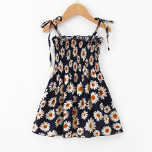 2019 Summer New Infant Baby Dress Toddler Girl Sleeveless Strap Dresses Children Princess Floral Party dresses