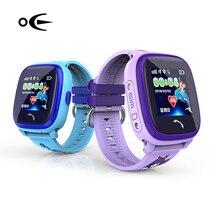 Дети Одежда заплыва часы ребенок SmartWatch GPS сенсорный телефон Smart Watch SOS вызова расположение устройства трекер безопасный анти-потерянный Мониторы