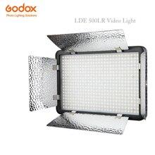 Godox LEVOU 500LR 3300 K-5600 K Estúdio Luz de Vídeo w/Refletores + Controle Remoto para a Câmera DV Camcorder