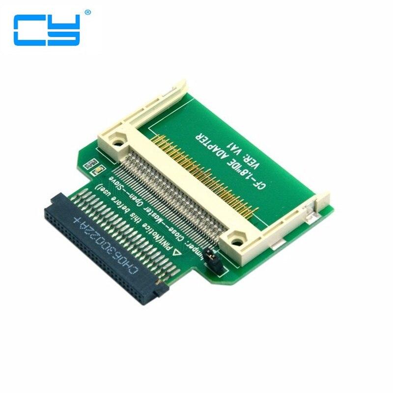 Galleria fotografica CF Compact Flash Card per merory 50pin 1.8 pollice IDE Hard Drive SSD Convertitore Adattatore per <font><b>Toshiba</b></font>
