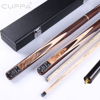 2019 HANDMADE Cuppa Paint-free Snooker Cue 9.8mm 11.5mm Tip with Snooker Cue Case China