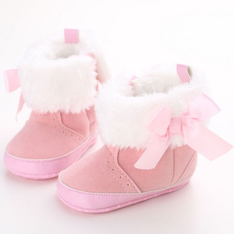 Winter Baby Shoes For Kids Infant Toddler Warm Baby Booties Soft Soles Crib Shoe Snow Boots New Arrival 0-18M Sapatinhos