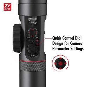 Image 5 - رافعة ZHIYUN رسمية 2 3 محاور مثبت أفقي لجميع طرازات كاميرات DSLR بدون مرآة كانون 5D2/3/4 مع تركيز متابع مؤازر