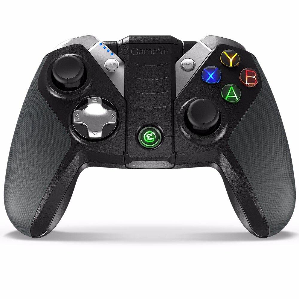 GameSir G4 Bluetooth USB Filaire Contrôleur pour Android Téléphone Intelligent TV BOX Tablet VR Jeux, pour Windows PC (Le Bateau de CN, NOUS, ES)
