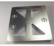 Reprap Mendel Prusa i3 3D printer aluminum alloy upgrade Y Carriage Plate Kit with timing belt holder,adjustable hole distance