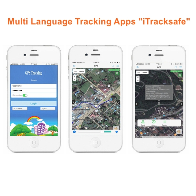 16 PIN Auto Car GPS Tracker locator with Web Vehicle Fleet Management system IOS & Android APP 4