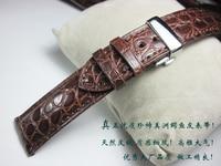 Handmade Watchband For IWC Genuine Leather Alligator Crocodile Luxury Watch Band Bracelet 18mm 19mm 20mm 21mm 22mm Leather Strap