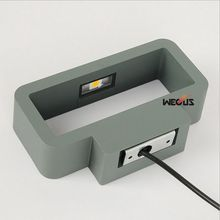 Outdoor / indoor LED wall lamp, aluminum wall lamp,waterproof wall lamp