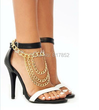 Free Shipping Style L13-1 Fashion Jewelry Shoe Chain Foot Chains Ankle Chain 2 colors