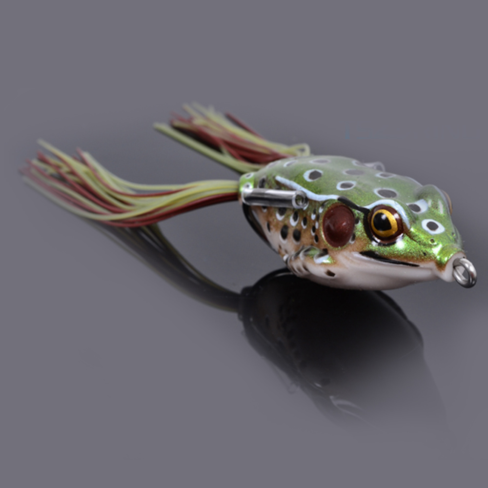 Trulinoya frog lure 3pcs lot 14g 55mm soft lures fishing for Fly fishing bait