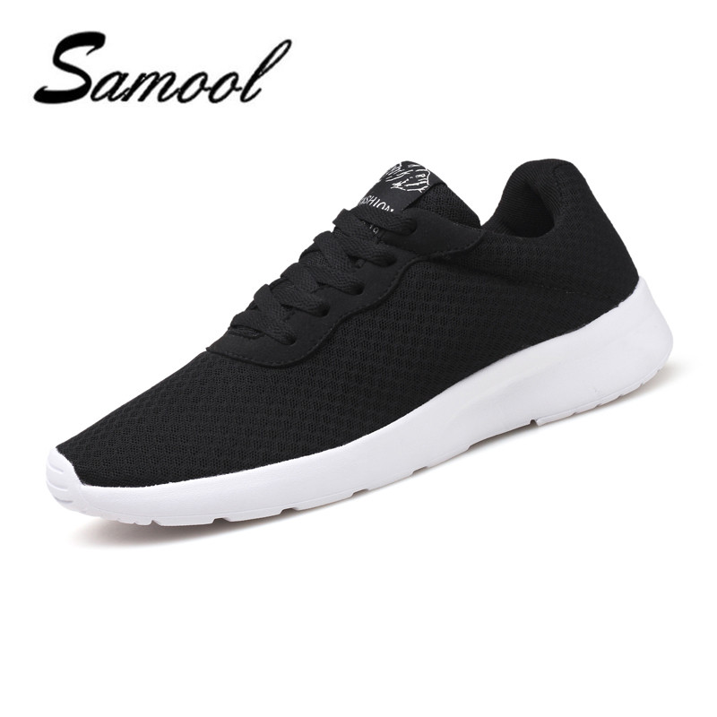 Brand Mesh Breathable Summer Shoes Women Casual Shoes Ultralight Flats Shoes New Fashion Unisex Zapatillas Big Size 35-45 ax4 fashion women casual shoes breathable air mesh flats shoe comfortable casual basic shoes for women 2017 new arrival 1yd103
