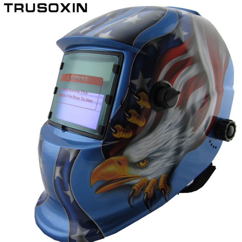 Welding tool Big view  Solar auto darkening/shading welding mask/helmet welder protection  helmet for MIG TIG ZX7 weld machine mig mag burner gas burner gas linternas wp 17 sr 17 tig welding torch complete 17feet 5meter soldering iron air cooled 150amp