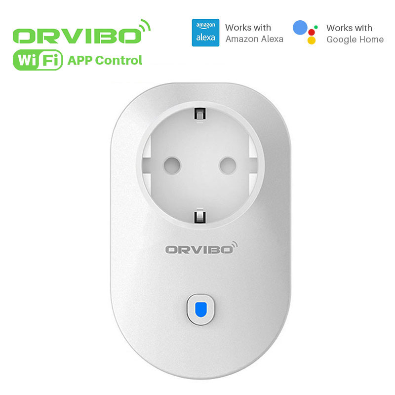 Orvibo Smart WiFi Socket Timing Power Plug Works With Amazon Alexa&Google Via smartphone APP Control Home Smart Home Automation wall socket home security alexa compatible surge protection zigbee home automation solution smart metering plug