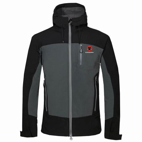 primavera inverno ao ar livre novo camping blusao jaqueta de esqui dos homens a prova