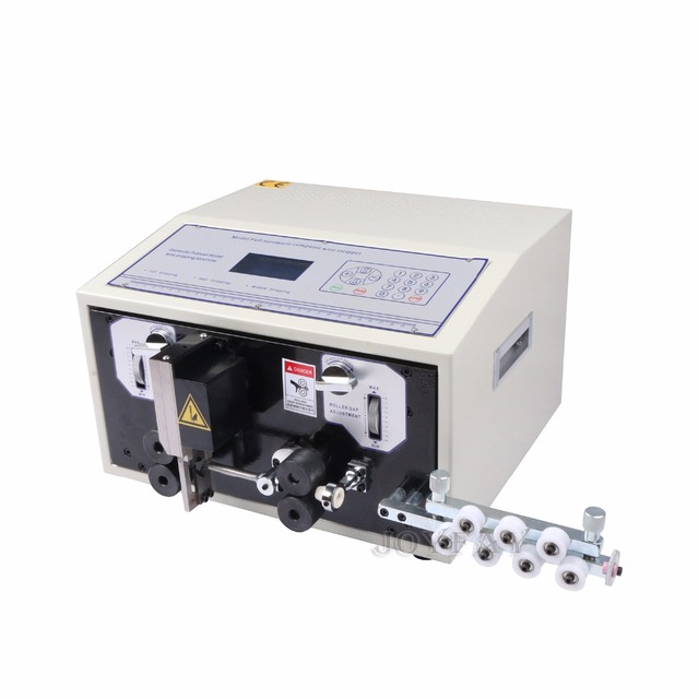 110 V Automatic Wire Striping Cutting Machine 0.1 4.5 mm2 Computer ...