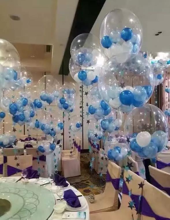 Aliexpress.com : Buy 24 Inch Clear Foil Helium Air