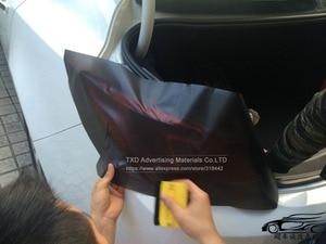 Image 4 - Película de luz mate con extremo negro de 30x100CM para faro trasero de moto, película de tintado ahumado, película de humo mate