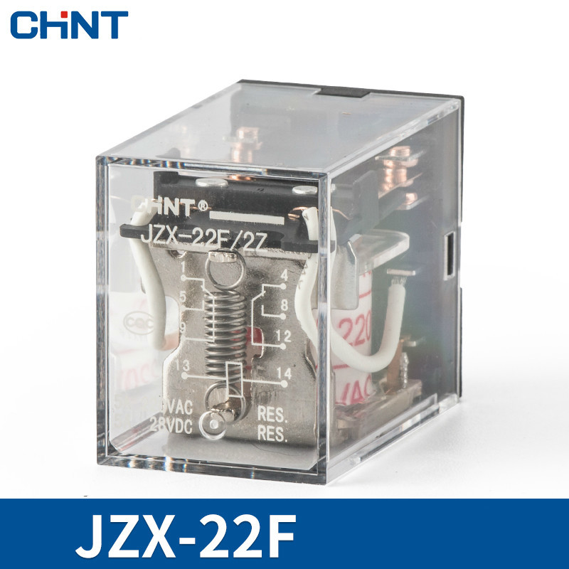 CHINT Small-sized Middle Relay 8 Foot Communication Electromagnetism Relay JZX-22F 5A 220Vac Hh52pCHINT Small-sized Middle Relay 8 Foot Communication Electromagnetism Relay JZX-22F 5A 220Vac Hh52p