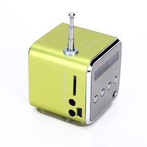 Image 2 - TD V26 Haut parleur Portable Mini et Digital avec Micro SD / TF / USB / FM   Vert