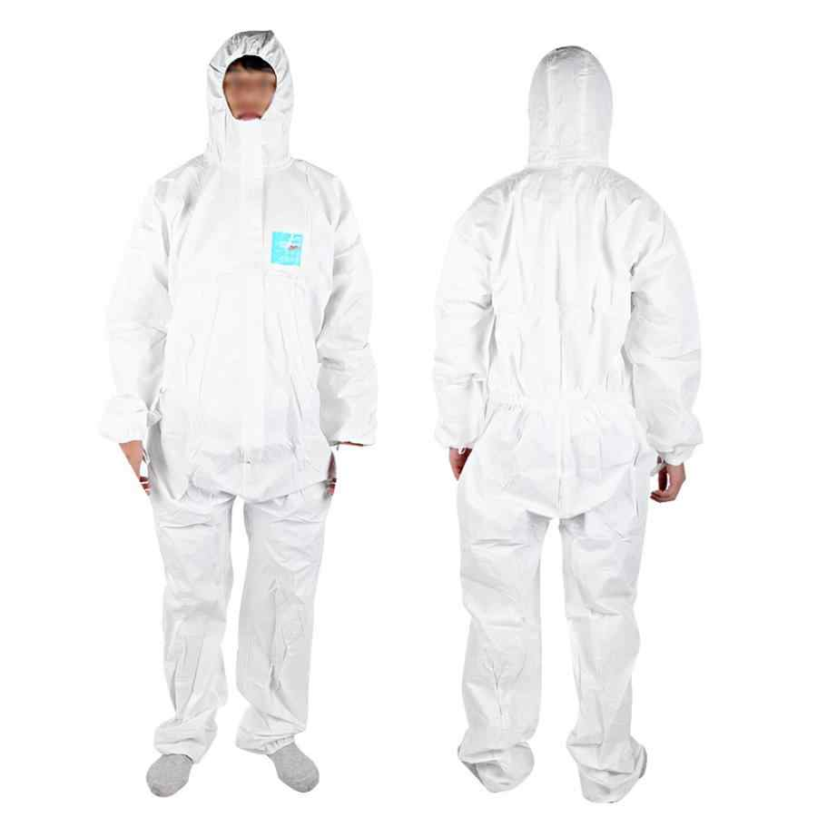 Comfortable breathable MC2000T Anti-static Chemical Flame Retardant Liquid Anti-Viruses Protective Coverall Suit
