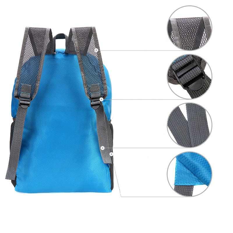 2019 новый унисекс клетчатый рюкзак Оксфорд свет женский туристический рюкзак Пункт Органайзер Двойные Плечи сумка мужской рюкзак складной