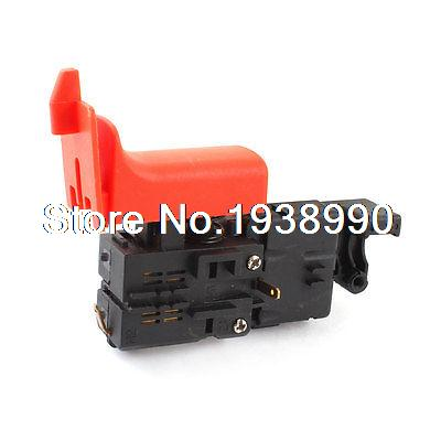Power Tool AC 250V Momentary Trigger Switch for Bosch FA2-4 Electric Hammer fa2 6 1bek spst lock on power tool trigger button switch black