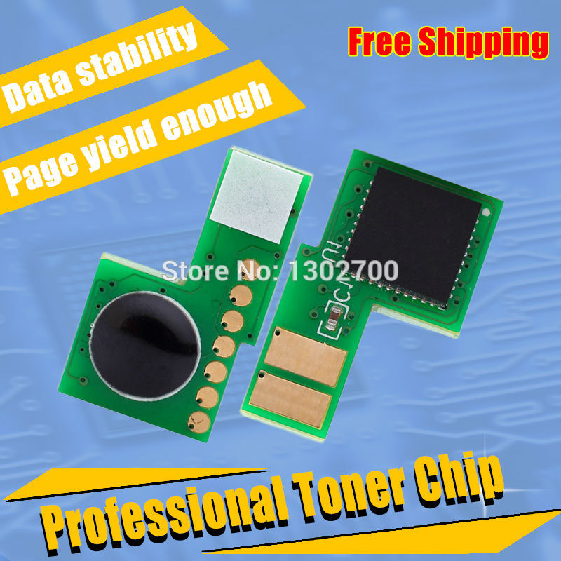 508A Toner reset chip For Color LaserJet Enterprise M552dn M553n M553x M553dn printer cartridge CF360A CF361A CF362A CF363A 36k black printer toner chip for lexmark x654 x656 x658 reset cartridge chip