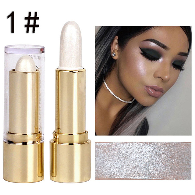 Beauty Eyeliner 3D Dimensional High Gloss Base 3 Color Repair Stick LongLasting Silkworm Pen High Brightening 2