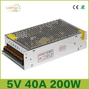 Высокое качество DC5V 12V 24V 36V 3В светодиодные полосы Мощность адаптер AC100-240V 1A 2A 3A 4A 5A 6A 8A 10A 15A 20A 30A 40A 50A Питание
