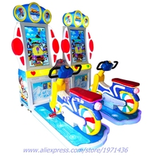 Sport Amusement Gear Indoor Coin Operated Simulator Driving Automobile Bike Driving Video games Arcade Sport Machine For For Guardian Children