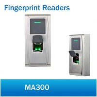 ZKTeco MA300 Metal IP65 Waterproof Fingerprint and 125K Rfid Card Access Control biometric reader time attendance