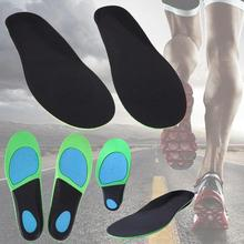 Size 41-44 Men Silicone Insoles Foot Care Pad Running Sports Insoles Shock Absorption Shoe Pads Foot Tool