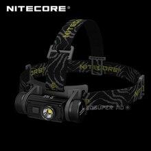 המכיל 3400mAh סוללה Nitecore HC60 CREE XM L2 U2 LED 1000 Lumens USB נטענת פנס