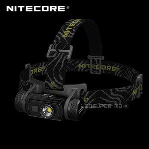 Image 1 - تحتوي على بطارية 3400mAh Nitecore HC60 كري XM L2 U2 LED 1000 لومينز USB مصباح أمامي قابل لإعادة الشحن