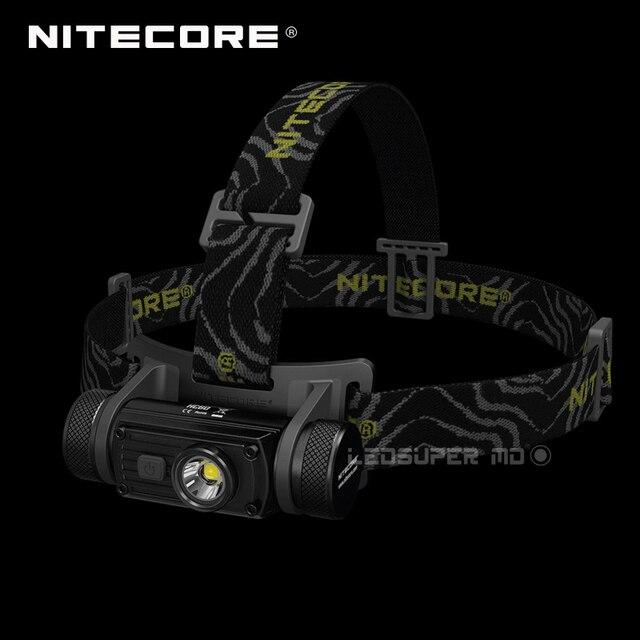 تحتوي على بطارية 3400mAh Nitecore HC60 كري XM L2 U2 LED 1000 لومينز USB مصباح أمامي قابل لإعادة الشحن