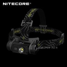 Лучшие продажи Nitecore HC60 1000 люмен CREE XM-L2 U2 светодио дный USB Перезаряжаемые фары с 3400 мАч 18650 Батарея