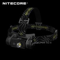 Containing 3400mAh Battery Nitecore HC60 CREE XM-L2 U2 LED 1000 Lumens USB Rechargeable Headlamp