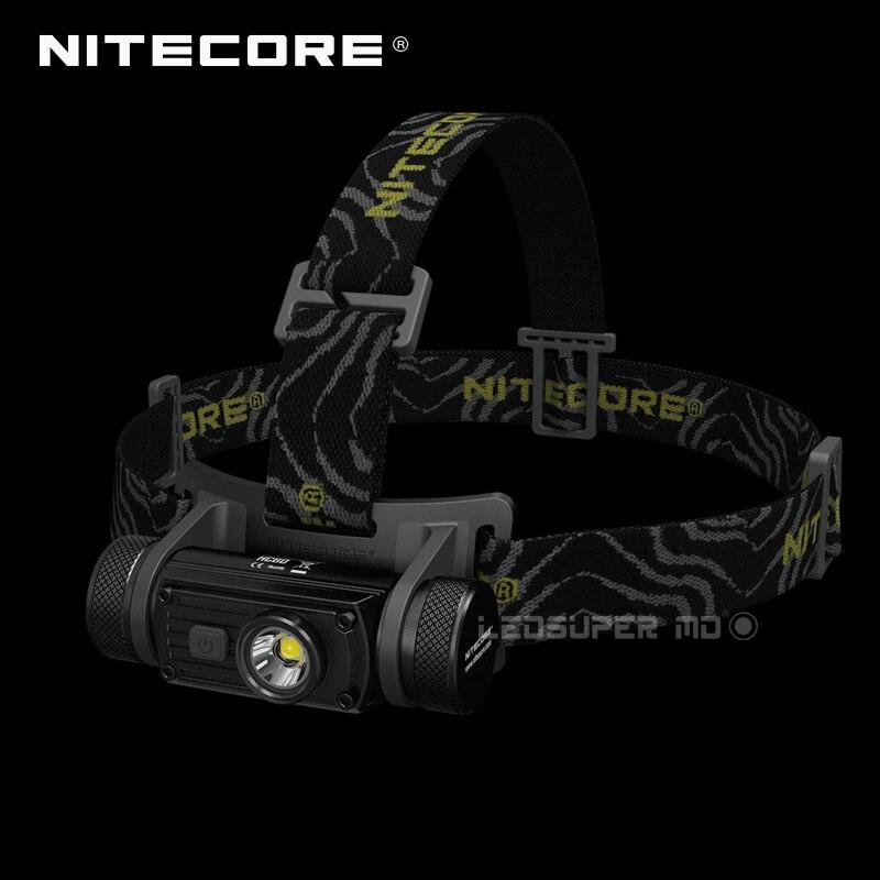 Meilleure Vente Nitecore HC60 1000 Lumens CREE XM-L2 U2 Rechargeables USB LED Lampe Frontale avec 3400 mah 18650 Batterie