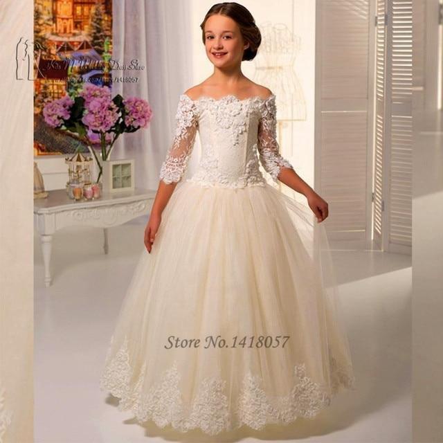 Vestidos de nina para boda de noche