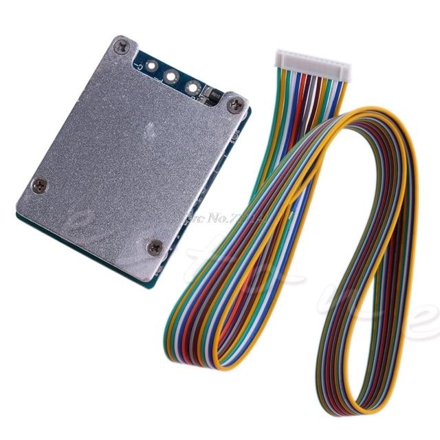 13S Li Ion LITHIUM CELL 48V 20A 18650 แบตเตอรี่ BMS PCB Board BALANCE Dropship