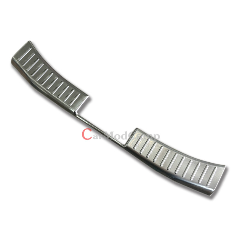 Hatchback Only !Chrome Stainless Steel Rear Inner Bumper Plate Cover Trim For Mazda 2 Demio 2015 2016 Car Styling accessories!