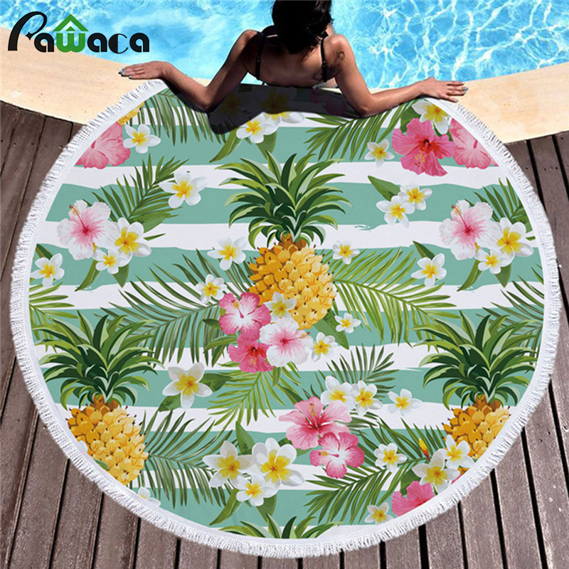 Home 150cm Microfiber Mexican Tortilla Summer Beach Towel Outdoor Camping Picnic Blanket Home Casual Sofa Throw Blanket