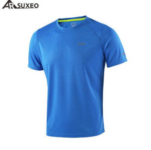 цены на ARSUXEO Summer Men's Running T Shirts Active Short Sleeves Quick Dry Jersey Sports Clothing Men's Tennis Dry Fit Shirt  в интернет-магазинах